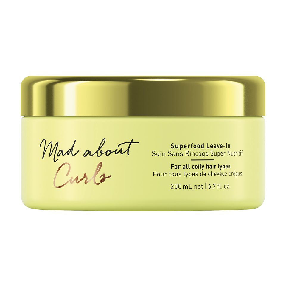 Mad About Curls Máscara Superfood Leave-In